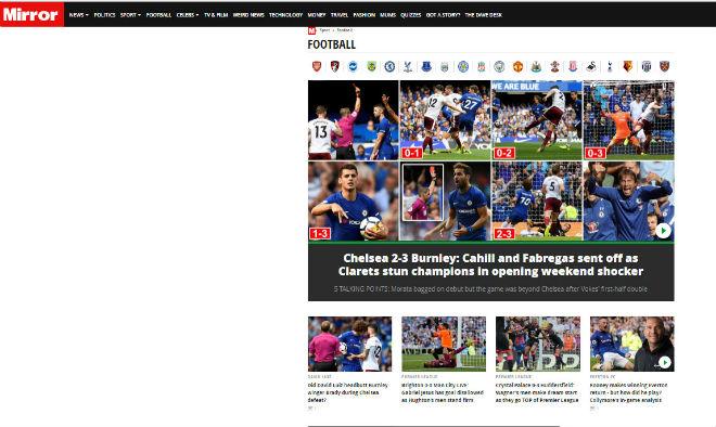 Chelsea thua s.o^.c: Triệu fan MU hả hê, báo chí khen Morata, mắng Conte - ảnh 6