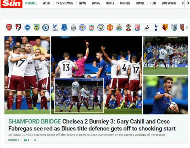 """Chelsea """"vỡ mặt"""": Báo chí thế giới khen Morata, mắng Conte thậm tệ - 2"""