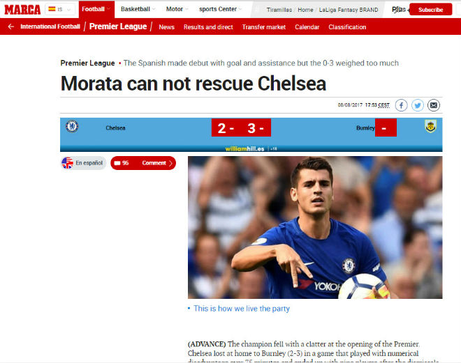 Chelsea thua s.o^.c: Triệu fan MU hả hê, báo chí khen Morata, mắng Conte - ảnh 10