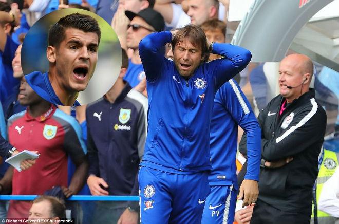 """Chelsea """"vỡ mặt"""": Báo chí thế giới khen Morata, mắng Conte thậm tệ - 1"""