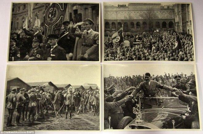 Loạt ảnh hiếm về trùm phát xít Hitler - ảnh 9