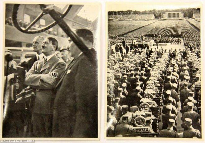 Loạt ảnh hiếm về trùm phát xít Hitler - ảnh 6