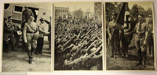 Loạt ảnh hiếm về trùm phát xít Hitler - ảnh 8