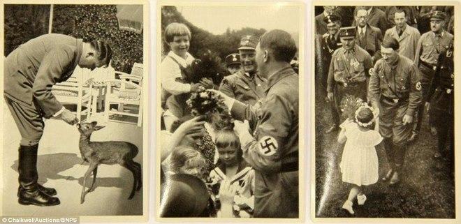 Loạt ảnh hiếm về trùm phát xít Hitler - ảnh 1
