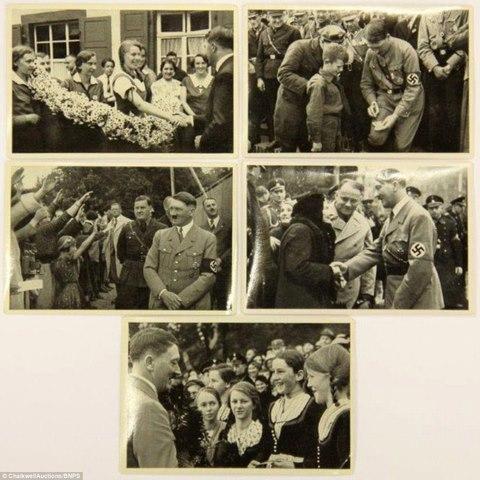 Loạt ảnh hiếm về trùm phát xít Hitler - ảnh 4