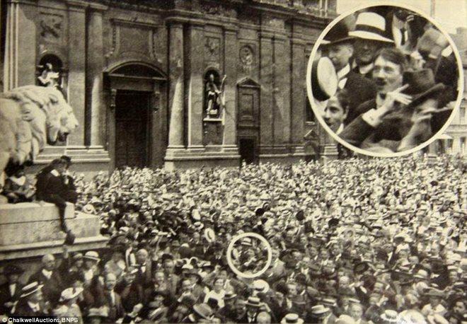 Loạt ảnh hiếm về trùm phát xít Hitler - ảnh 3