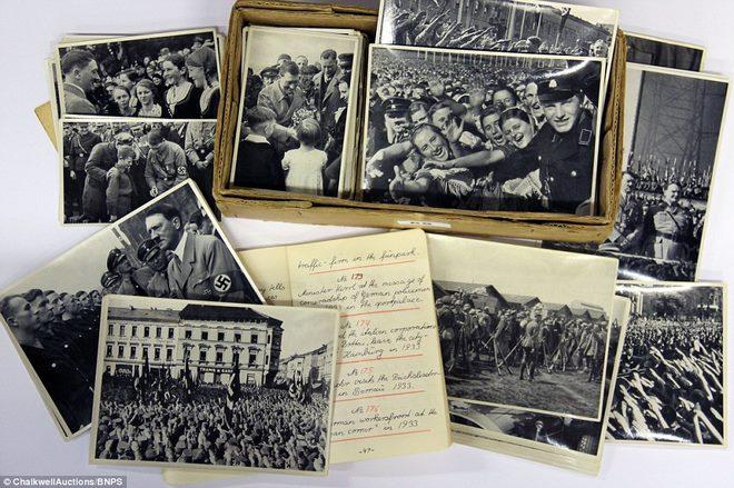 Loạt ảnh hiếm về trùm phát xít Hitler - ảnh 7