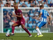 Bóng đá - Brighton - Man City: Penalty hụt và 2 sai lầm chí tử