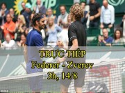 Chi tiết Federer - Zverev: Trả nợ hoàn hảo (Chung kết Rogers Cup) (KT)