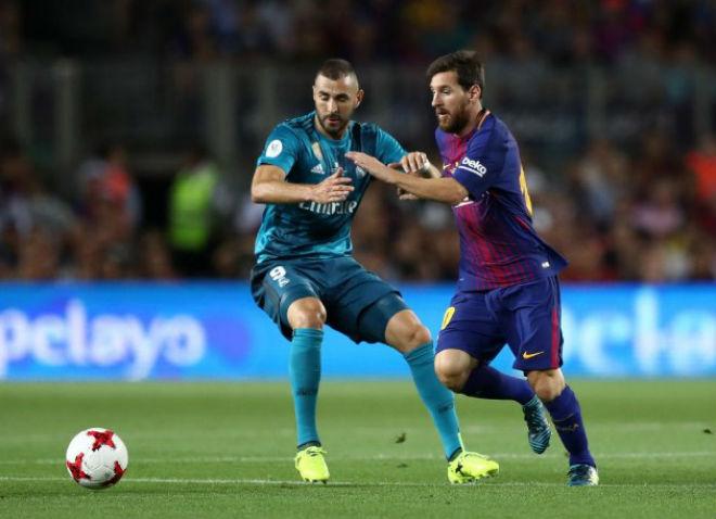 Video, kết quả bóng đá Barcelona - Real Madrid: Đôi công mê đắm - ảnh 1