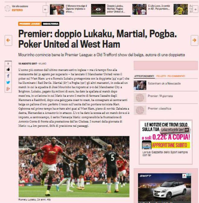 MU đại thắng ra quân, báo chí thế giới phát sốt, cạn lời khen Lukaku - ảnh 3