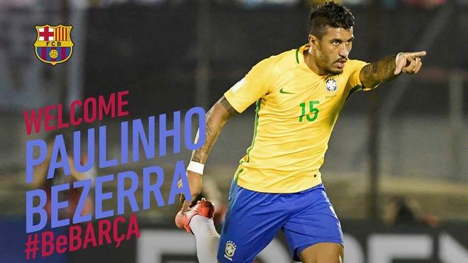 Chính thức: Barca đón đồng hương Neymar 40 triệu euro từ Trung Quốc