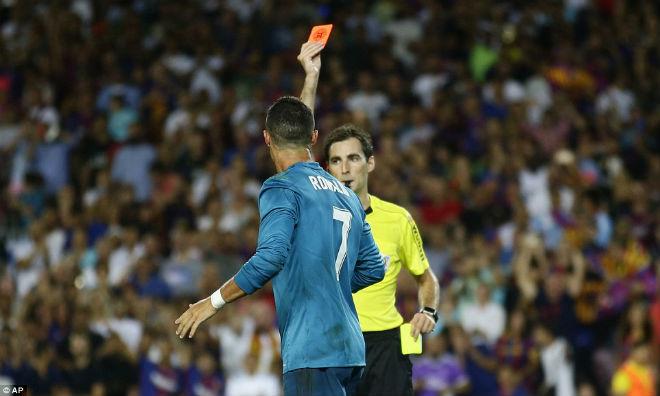 Choáng váng: Ronaldo lĩnh án phạt cực nặng sau Siêu kinh điển Barca - Real - 1
