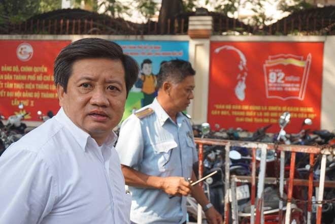"""Ông Đoàn Ngọc Hải nói lý do """"trảm"""" bãi xe bên hông UBND quận 1"""