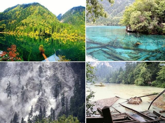 Đã từng có một Cửu Trại Câu đẹp tựa xứ thần tiên trước khi bị động đất tàn phá - 16