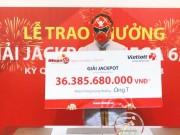 Lộ diện người trúng jackpot 36 tỉ sau 3 ngày âm thầm nhận giải