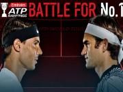 """BXH tennis 14/8: Federer - Nadal và  """" canh bạc tất tay """"  vì số 1"""