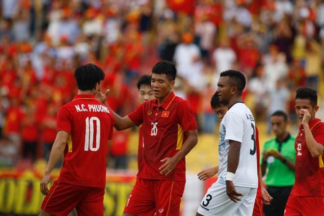 U22 Việt Nam thắng đậm: Văn Hậu, sao trẻ tầm châu Á tỏa sáng - 4