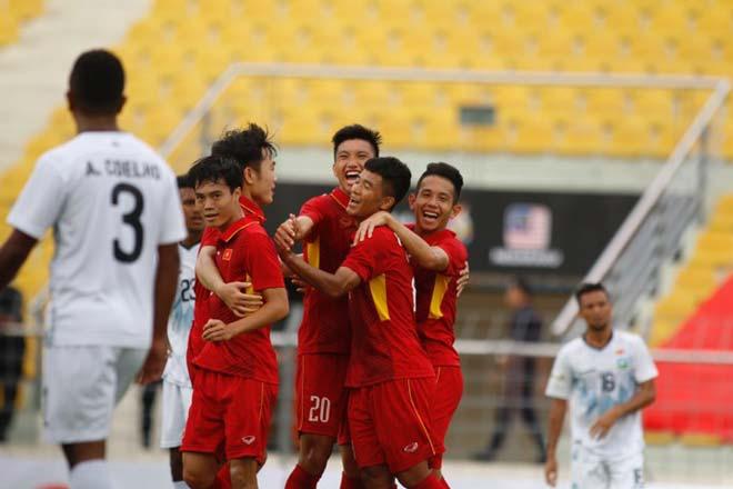 U22 Việt Nam thắng đậm: Văn Hậu, sao trẻ tầm châu Á tỏa sáng - 6