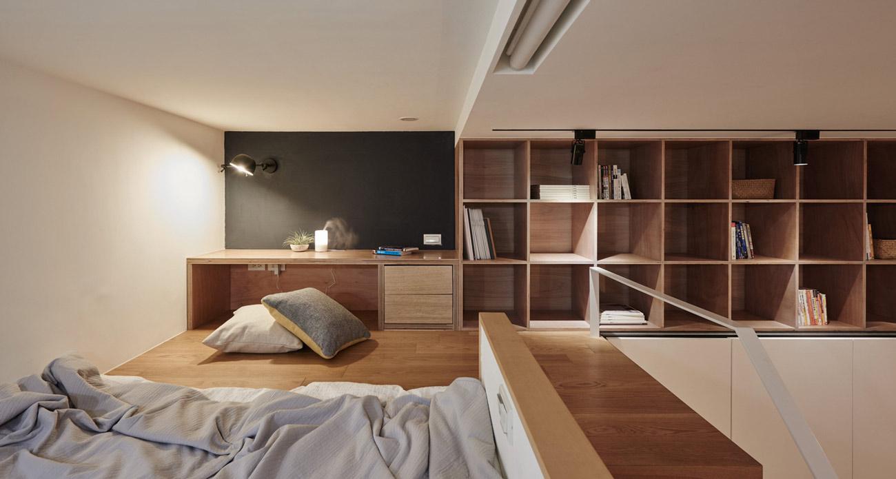 """Cách sắp xếp đáng học hỏi biến căn hộ 22m2 thành rộng """"thênh thang"""" - 8"""