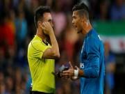 Bóng đá - Ronaldo treo giò 5 trận: Trọng tài Burgos - Kẻ thù chính hiệu của Real