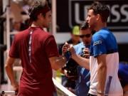 """Trực tiếp tennis Cincinnati ngày 2: Federer sa cơ,  """" Kẻ thống trị """"  Thiem  """" bung lụa """""""
