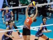 """Bóng chuyền nữ châu Á: Việt Nam - Nhật Bản, set 2  """" như 1 trò đùa """""""