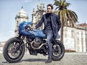 """Vẻ đẹp đầy  """" ma mị """"  của Vanguard Moto Guzzi V7 Custom"""