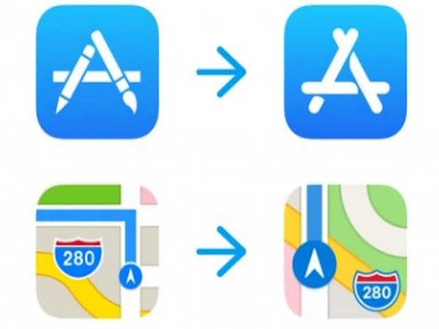 Apple lần đầu tiên thay đổi logo App Store sau nhiều năm