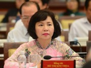 Tin tức trong ngày - Thủ tướng miễn nhiệm chức Thứ trưởng của bà Hồ Thị Kim Thoa