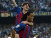 """Kinh điển Real - Barca: Rô vẩu, Messi từng  """" cày nát """"  Bernabeu"""
