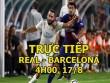 TRỰC TIẾP Real Madrid - Barcelona: Bale đá dự bị (Siêu cúp TBN)