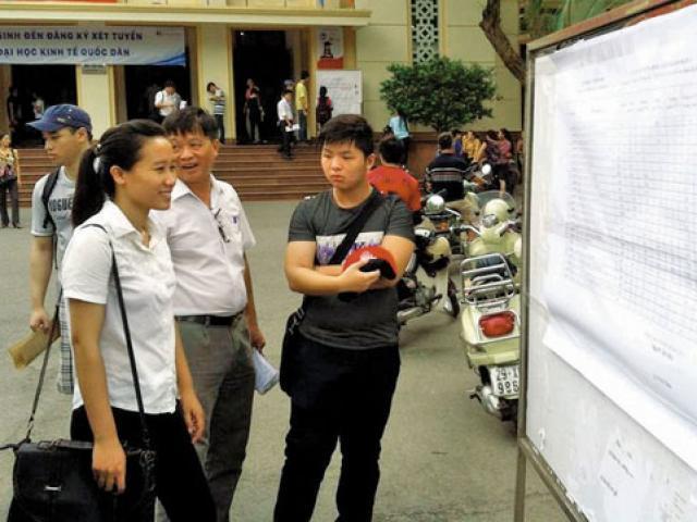 Xét tuyển bổ sung ĐH, CĐ năm 2017: Điều cần biết để không mất cơ hội
