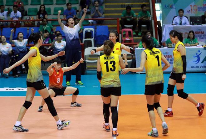 Bóng chuyền nữ châu Á: Việt Nam đè bẹp Đài Loan, chinh phạt SEA Games - Ảnh 2.