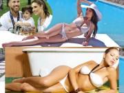 Dàn vợ, bồ cầu thủ Real Madrid - Barcelona: Ai sexy hơn ai?