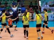 """Bóng chuyền nữ châu Á: Việt Nam  """" đè bẹp """"  Đài Loan, chinh phạt SEA Games"""