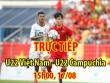 TRỰC TIẾP U22 Việt Nam - U22 Campuchia: Fan Việt Nam nhuộm đỏ Shah Alam