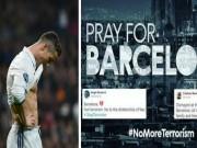 Dư âm Siêu cúp: Ronaldo  &  Neymar khóc thương nạn nhân khủng bố