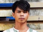Gã trai 24 tuổi hiếp dâm bé gái bên bờ suối