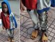 Cháu trai bị xích chân, lang thang giữa chợ gây phẫn nộ