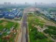 Nhìn từ trên cao tuyến đường  dát vàng  ở Thủ đô sắp khánh thành