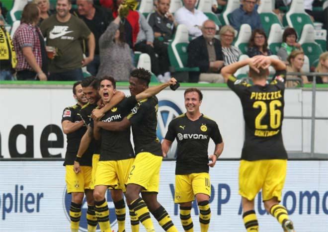 Wolfsburg - Dortmund: Người hùng nước Mỹ - 1