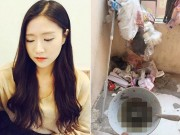 Kinh hoàng cảnh  sống trên đống rác  của nữ sinh Việt