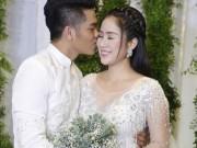 Tiệc cưới trắng tinh khôi đẹp như cổ tích của Lê Phương tại TP.HCM