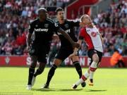 Southampton - West Ham: Thẻ đỏ, cú đúp siêu sao  & amp; sai lầm tai hại