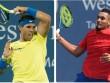 """TRỰC TIẾP Nadal - Kyrgios: Thần tốc  """" ăn """"  set 1"""