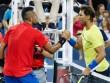 """Trực tiếp tennis Cincinnati ngày 6: Nadal thua đau,  """" ngai vàng """"  là của Kyrgios"""