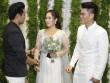 Tình cũ Quý Bình nắm tay, chúc phúc Lê Phương trong ngày cưới chồng trẻ
