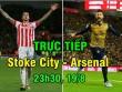 TRỰC TIẾP bóng đá Stoke - Arsenal: Cảnh giác cao độ (Vòng 2 ngoại hạng Anh)