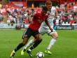 """Video, kết quả bóng đá Swansea - MU: Triệt hạ  """" Thiên nga đen """"  bằng bóng bổng (Hiệp 1)"""